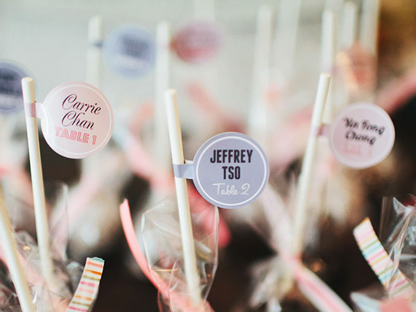 Wedding Candy Labels