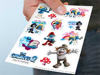 Die-Cut Sticker Sheets