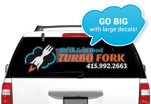 Create Custom Stickers Labels Tattoos And Decals At StickerYou - Truck window decals   how to purchase and get a great value safely