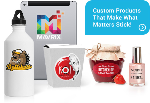 Custom Sticky Products
