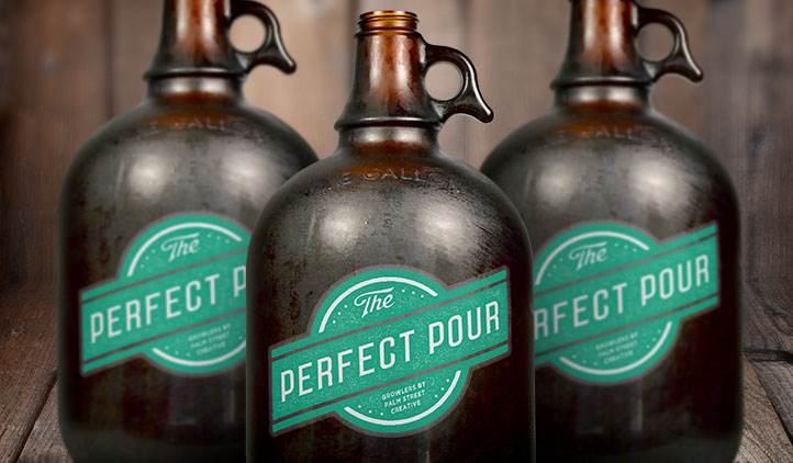 Growler Beer Labels