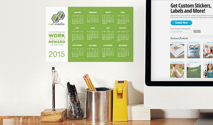 Calendar stickers stickeryou products