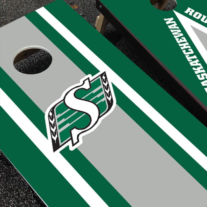 Ohio State Brushed Metal Bag Game Sticker CUSTOM VINYL Cornhole Board DECAL  1 Please Read The Item Details