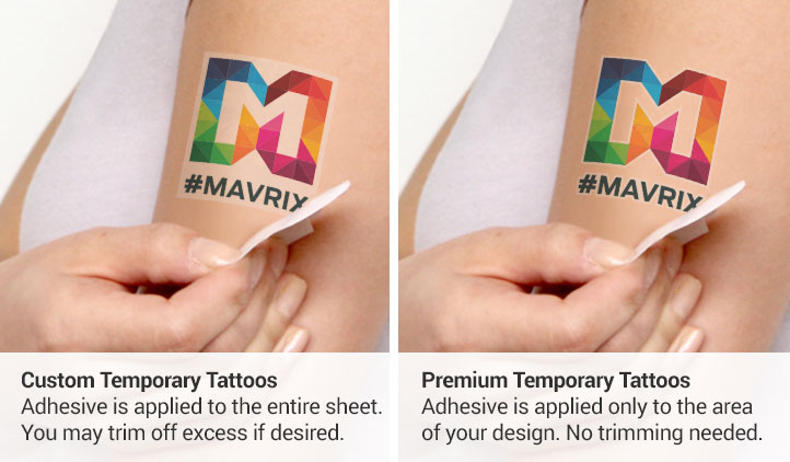 Specialty Temporary Tattoos Stickeryou