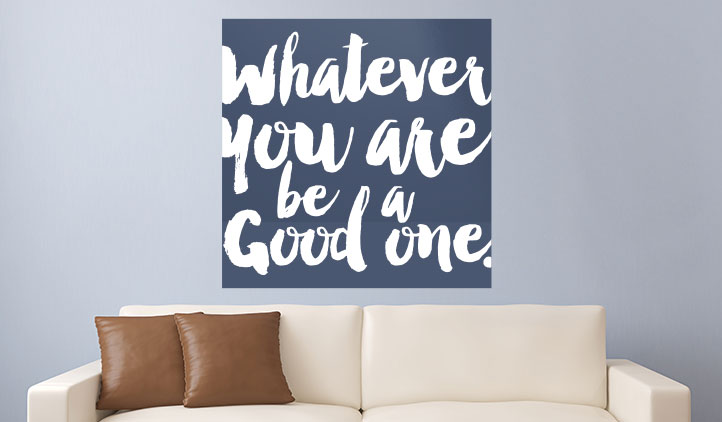 Decorative Quote Wall Decals