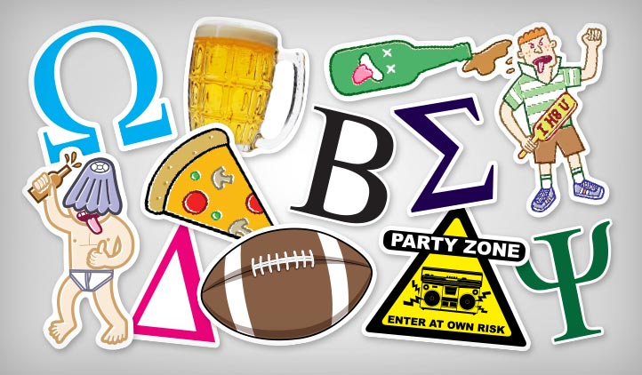 Fraternity & Sorority Stickers