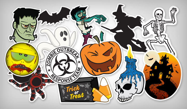 Halloween Stickers | StickerYou Products