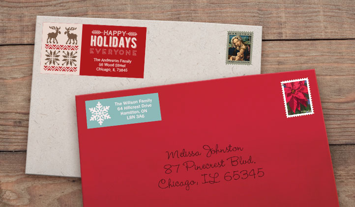 Holliday Labels