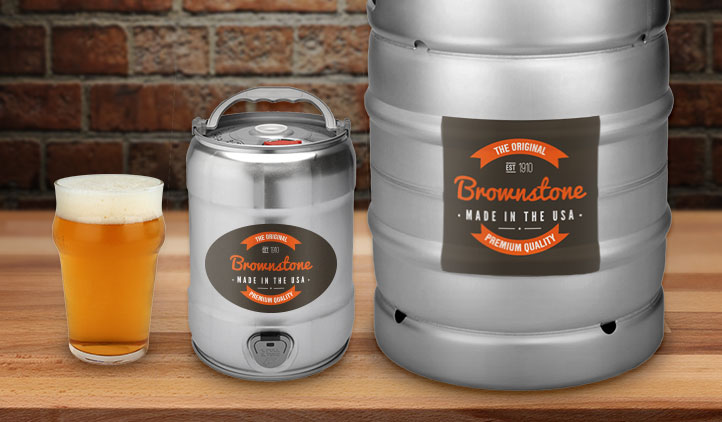 Keg Labels