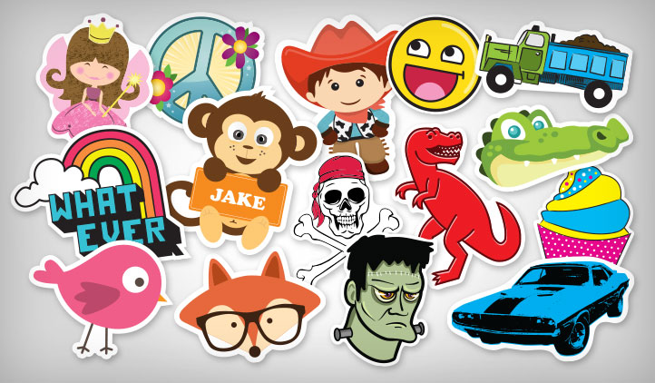 Kids Stickers Stickeryou Products Stickeryou