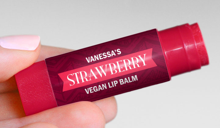 Lip Balm Labels