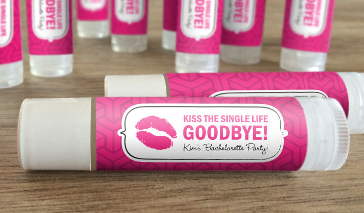 Kissing the single life goodbye chapstick