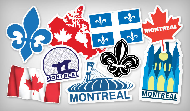 Montreal stickers stickeryou products