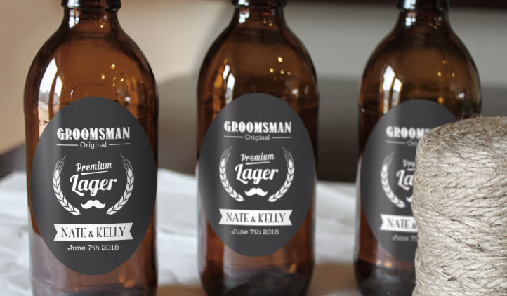 Mr  Beer Custom Labels