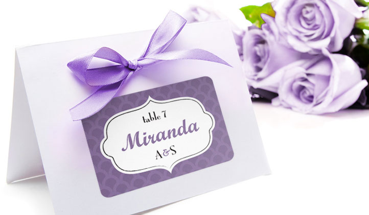 Name Tags StickerYou Products - Wedding name tag template