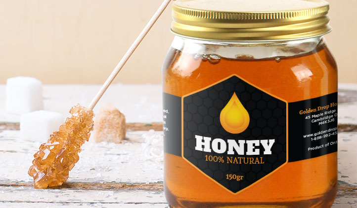 Custom Honey Labels and Jar Labels | StickerYou Products