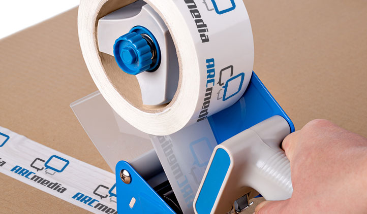 Custom Packing Tape Roll with Dispenser