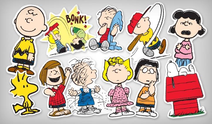sc 1 st  StickerYou & Peanuts Stickers | StickerYou Products
