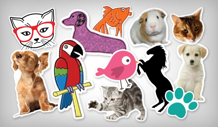 Show your pets some love with pet stickers from stickeryou create custom stickers using our art or upload pictures of your pets to create the perfect pet