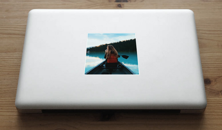 Custom Photo Sticker