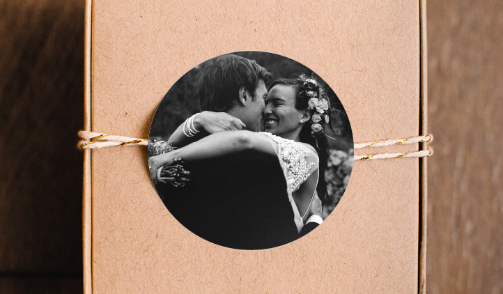Wedding Photo Stickers