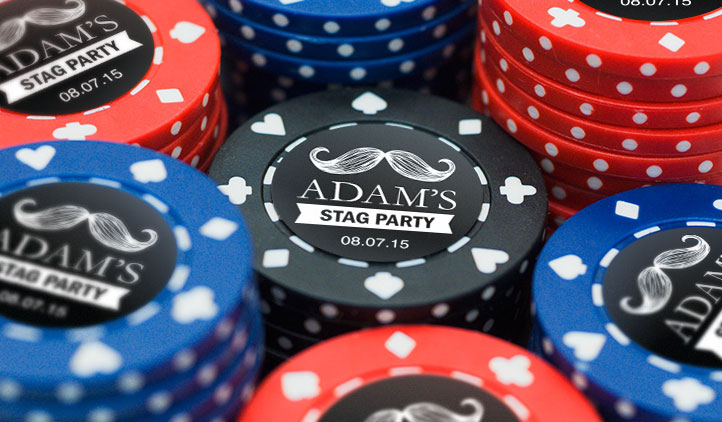 Poker Chip Labels Stickeryou Products