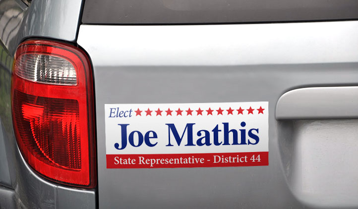 Custom Political Bumper Stickers