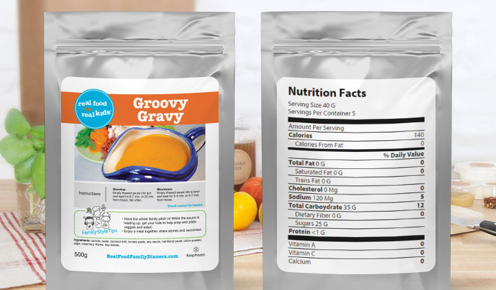 Food Packaging Product Labels