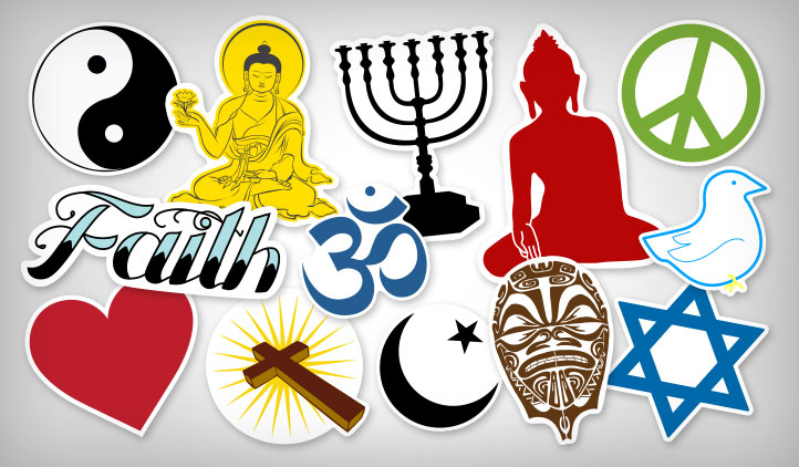Religion Stickers