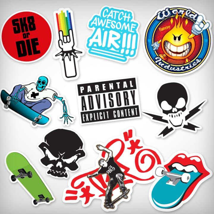 Advertising Signs  Vinyl Decal Sticker  Phone//Skateboard  Choose your sticker