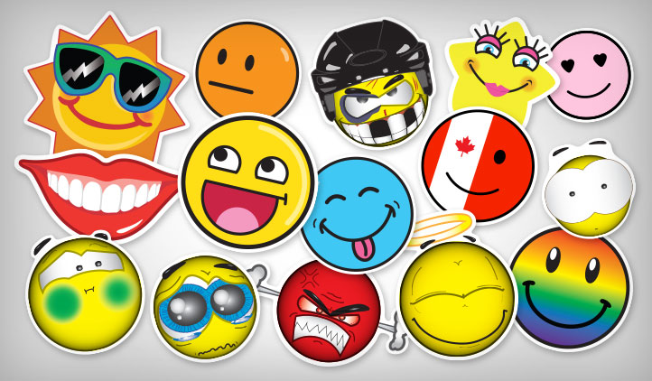 Smiley Stickers Stickeryou Products