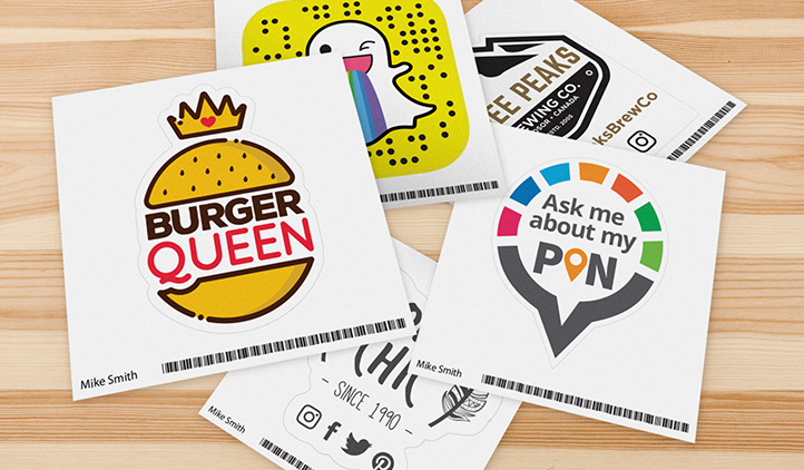 Get a free logo sticker
