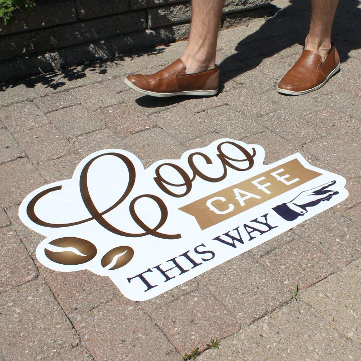 Durable Outdoor Street Decals