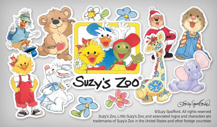 Suzy S Zoo Stickers Art Stickeryou Products Stickeryou