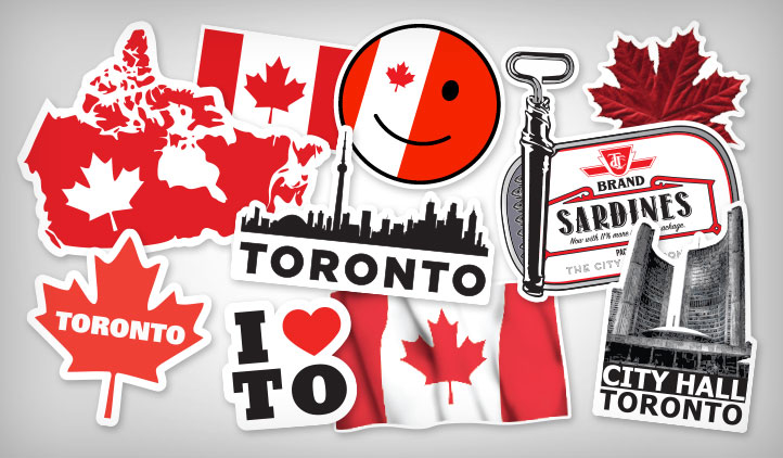 Toronto custom stickers