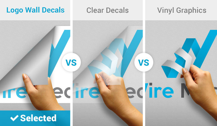 Logo wall decals wall decal comparison