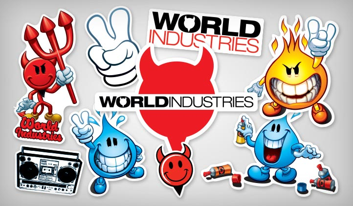World Industries Stickers Stickeryou Products Stickeryou
