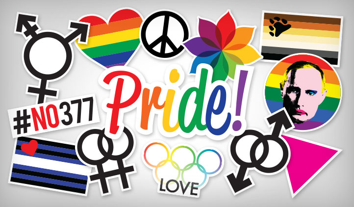 World Pride Stickers