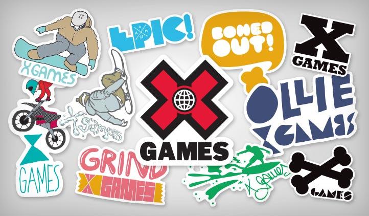 X Games Stickers Stickeryou Products Stickeryou