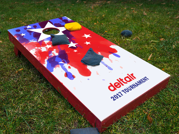 Custom Cornhole Decals