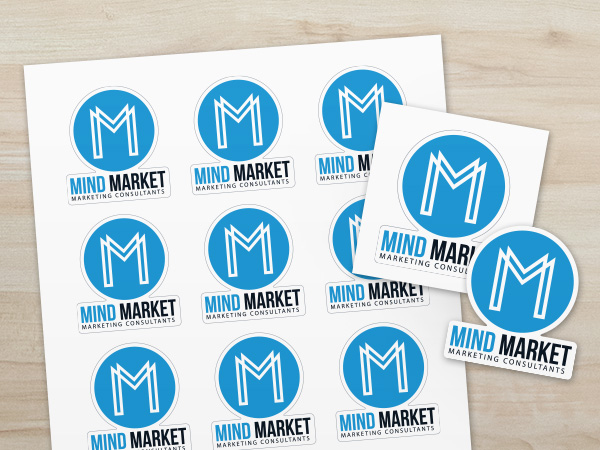 Personalized Business Logo Stickers
