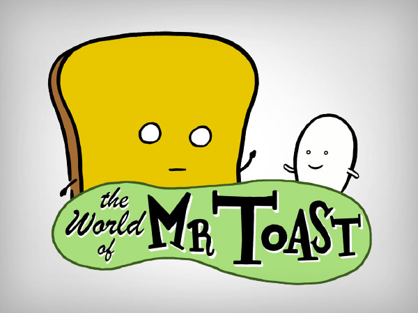 Mr. Toast Stickers