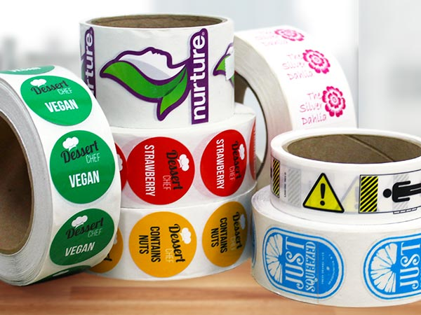 Roll Labels StickerYou Products - Custom stickers and labels