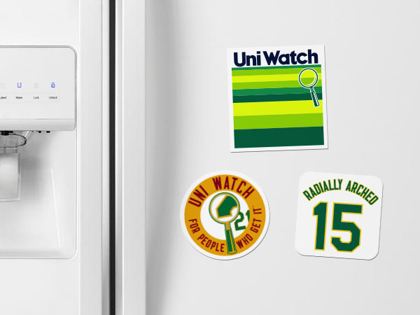 Uni Watch Magnets