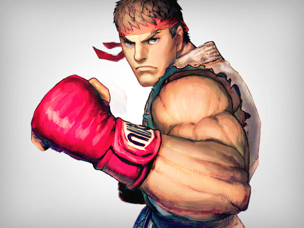 Super Street Fighter IV Stickers