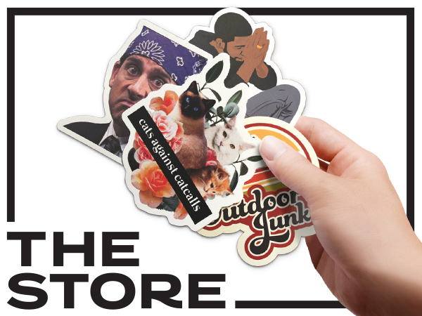 Buy Stickers at The Store
