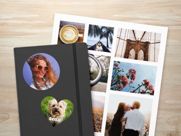 Custom Photo Sticker Pages