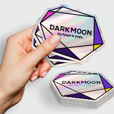 Holographic Die-Cut Stickers