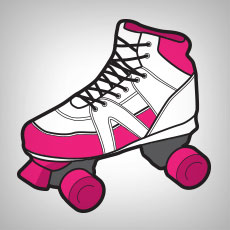 Roller Derby Stickers