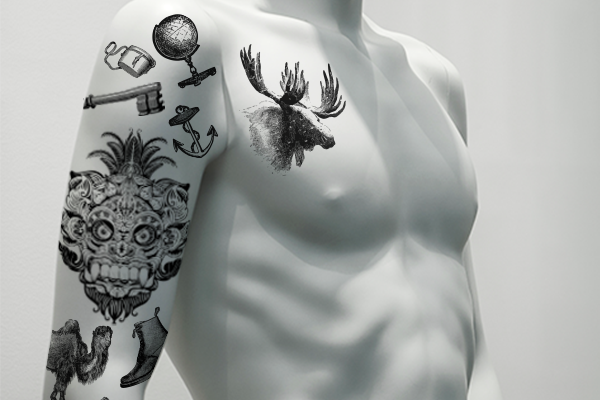 temporary tattoos for mannequins